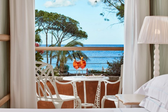 Superior Room Sea Front Hotel La Villa del Re Sardinia